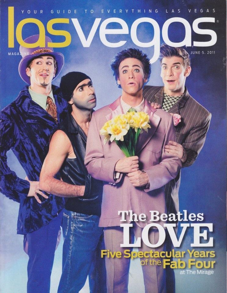 Las Vegas Magazine cover
